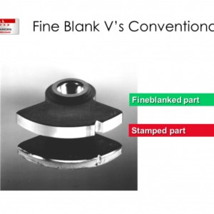Find Blanking v Conventional Stamping